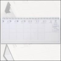 Fekvő asztali-naptár betét